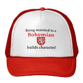 El bohemio construye el carácter gorras