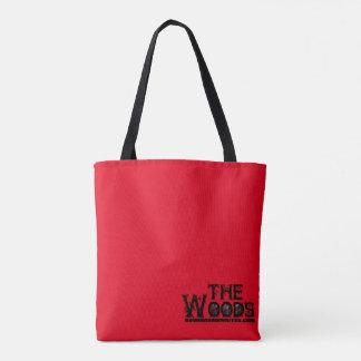 El bolso de maderas bolsa de tela