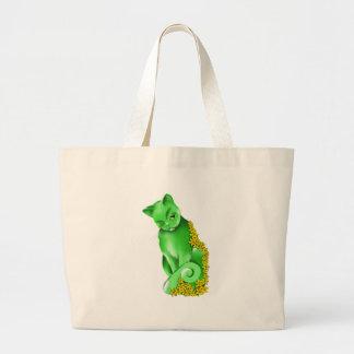 El bolso del gato del jade bolsas