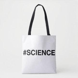 El bolso libre del #Science del empollón del Bolsa De Tela