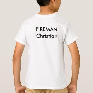 El bombero, añade nombre a la camisa