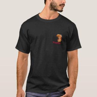 El bombero del jGibney de la serie del artista del Camiseta
