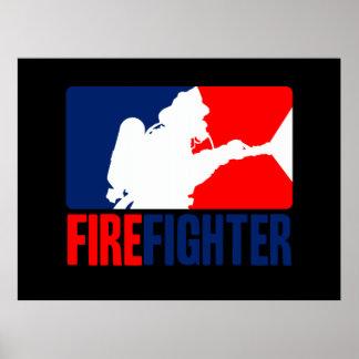 El bombero póster