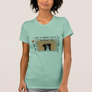 El border collie camiseta