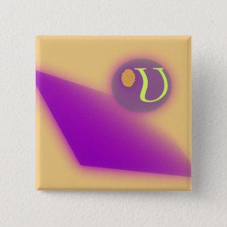 El botón cuadrado de la letra U