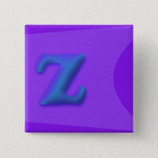 El botón cuadrado de la letra Z