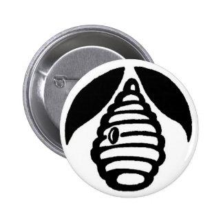 El botón de la colmena pin