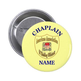 El botón del capellán del logotipo de AAWO, corrig Pin