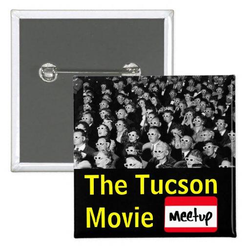 El botón del grupo de la película de Tucson Pins