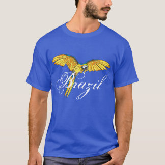 El Brasil con el loro Camiseta