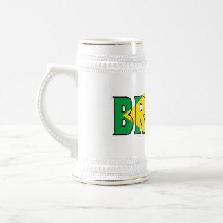 El Brasil Stein Jarra De Cerveza
