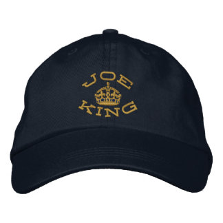 El bromear encendido guarda la corona tranquila gorro bordado