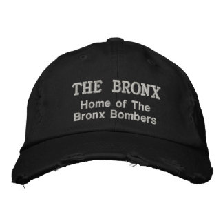 El Bronx Gorra Bordada