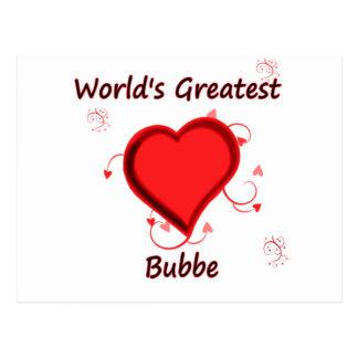 El bubbe más grande del mundo tarjetas postales