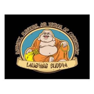 El Buda de risa Postal