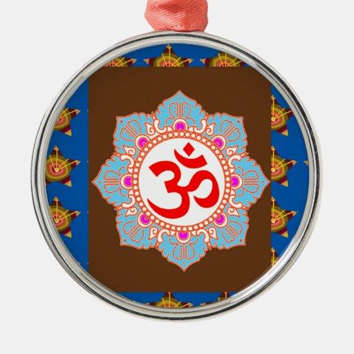 El Buddhism del Hinduism del templo del arte del m Adorno De Reyes