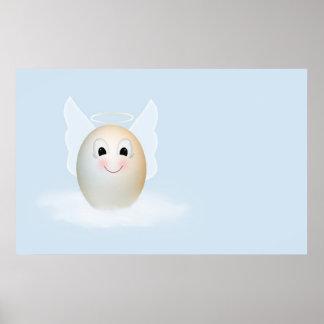 El buen ángel del huevo posters