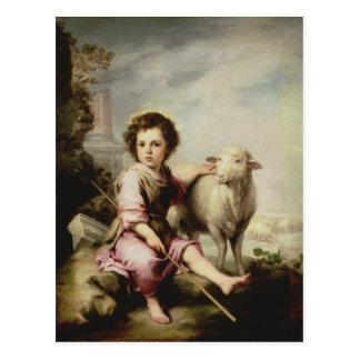 El buen pastor, c.1650 postal