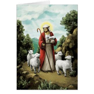 El buen pastor tarjeta