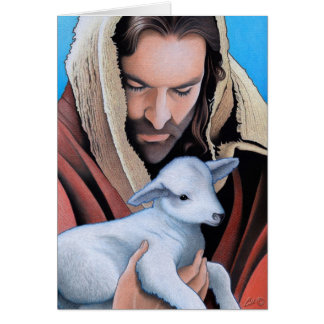 El buen pastor tarjeton