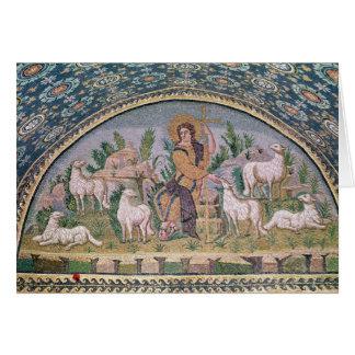 El buen pastor tarjeta de felicitación