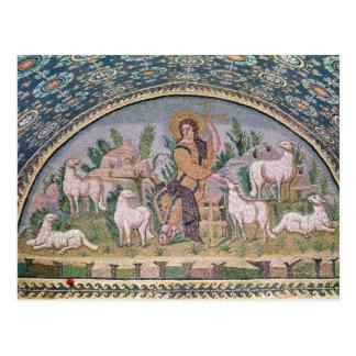 El buen pastor tarjeta postal