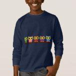EL BUHO BOO - Búho de colores Camiseta