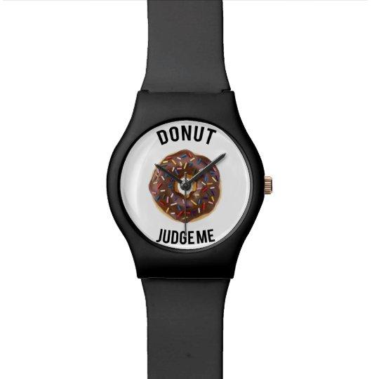 El buñuelo me juzga reloj de pulsera