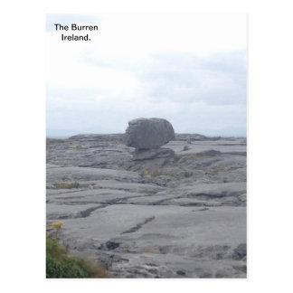 El Burren, Co. Clare, Irlanda A Postal