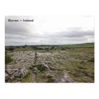 El Burren, Co. Clare, Irlanda Postal