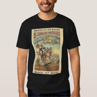 El caballero misterioso y el casquillo del camisetas