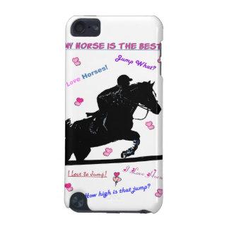 El caballo Doodles la caja dura de la mota de Funda Para iPod Touch 5G