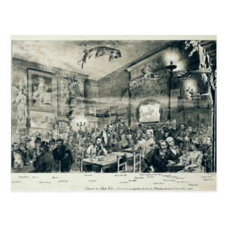 El cabaret du Chat Noir, 1886 Postal