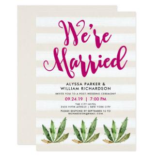 El cactus atractivo el | somos invitación casada