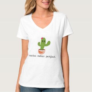 El cactus hace la camiseta perfecta