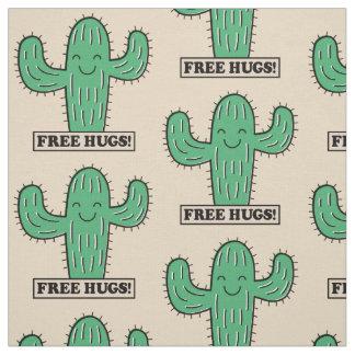 El cactus libre abraza la tela de encargo