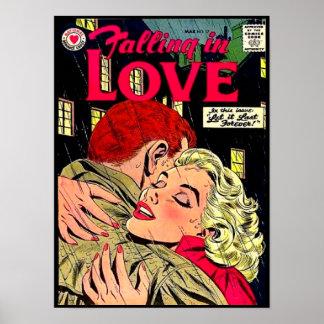 El caer en amor póster