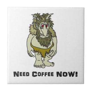 El café de la necesidad ahora pesca con cebo de azulejo de cerámica