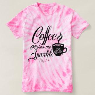 El café de la vida de Bling me hace la camisa de