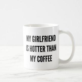 El café del navidad mi novia es más caliente que taza de café