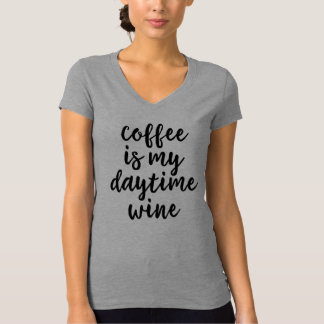 El café es mi camisa diurna del vino
