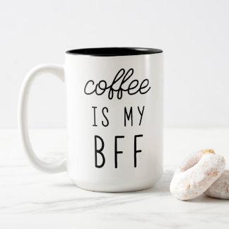 El café es mi taza de BFF 15oz