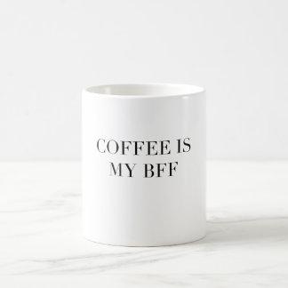 El café es mi taza de café divertida de la cita de