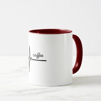 El café es mi taza de la CUERDA DE SALVAMENTO