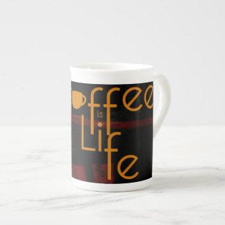 El café es vida taza de té
