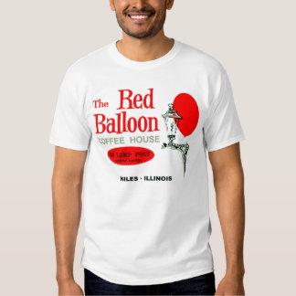 El café rojo del globo, Niles, Illinois Camiseta