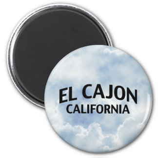 EL Cajon California Imán Para Frigorífico