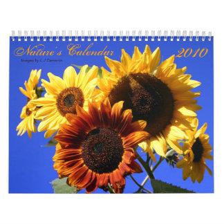 El calendario 2010 de la naturaleza