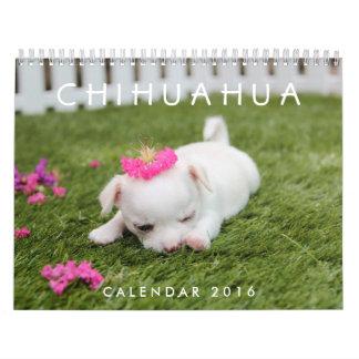 El calendario 2016 de la chihuahua añade sus fotos