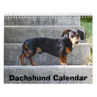 El calendario 2017 del Dachshund añade sus fotos